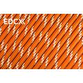 550 паракорд EdcX - Reflective Sofit Orange (Украина) от Survival Market