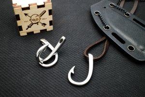 Крюк застежка (хирургическая сталь)
