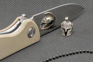 """Подвес на темляк """"Спартанский шлем"""" от Магазин паракорда и фурнитуры Survival Market"""