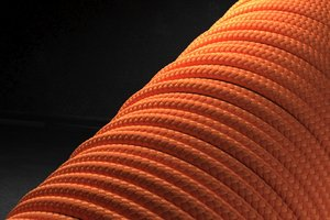 Паракорд 2 мм - ярко-оранжевый от Survival Market