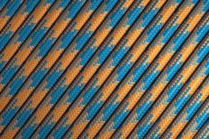 Купить 550 паракорд - оранжево-синий (М5)