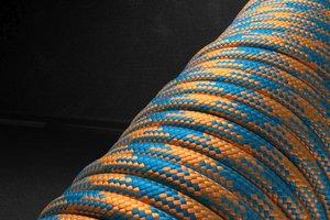 550 паракорд - оранжево-синий (М5)