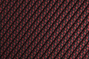 550 паракорд - красно-черный пестрый (М2)
