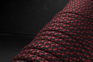 550 паракорд - красно-черный пестрый (М2) от Магазин паракорда и фурнитуры Survival Market