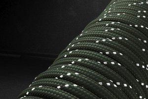 Светоотражающий 550 паракорд - армейский зеленый от Survival Market