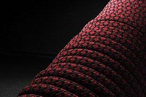 550 паракорд - бордовая змея