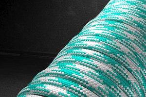 550 паракорд - бело-бирюзовый (М3) от Розничный SUR