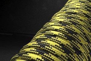 550 паракорд - желто-черный (М1) от Магазин паракорда и фурнитуры Survival Market