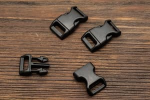 Фастекс 16 мм - черный от Survival Market