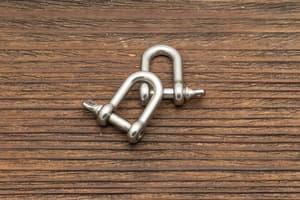 Карабин-шакл U (мини) от Магазин паракорда и фурнитуры Survival Market
