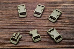 Фастекс 10 мм - армейский зеленый от Магазин паракорда и фурнитуры Survival Market