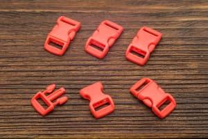 Фастекс 10 мм - красный от Магазин паракорда и фурнитуры Survival Market