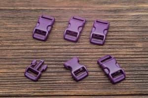 Фастекс 10 мм - темно-фиолетовый от Магазин паракорда и фурнитуры Survival Market