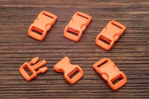 Фастекс 10 мм - ярко-оранжевый от Розничный SUR