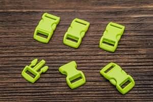 Фастекс 10 мм - ярко-зеленый от Магазин паракорда и фурнитуры Survival Market