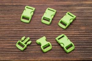 Фастекс 10 мм - зеленый от Магазин паракорда и фурнитуры Survival Market