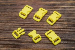 Фастекс 10 мм - желтый от Магазин паракорда и фурнитуры Survival Market