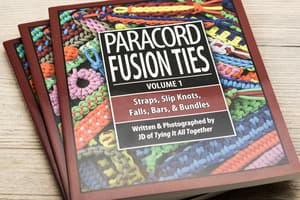 "Книга J.D. Lenzen - ""Paracord Fusion Ties"" Vol. 1 от Розничный SUR"