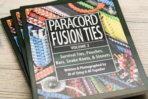 "Книга J.D. Lenzen - ""Paracord Fusion Ties"" Vol. 2 от Магазин паракорда и фурнитуры Survival Market"
