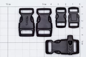Фастекс 10 мм - серый от Магазин паракорда и фурнитуры Survival Market