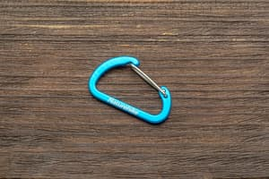 Карабин NH 4 см - синий от Розничный SUR