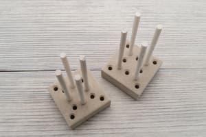 Инструмент для плетения обезьяньего кулака Wood от Магазин паракорда и фурнитуры Survival Market
