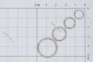 Кольца заводные 18 мм (комплект) от Магазин паракорда и фурнитуры Survival Market