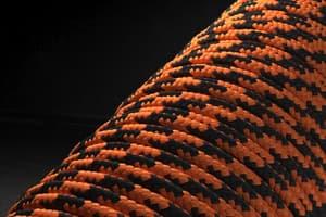 Паракорд 2 мм - контраст оранжевый от Магазин паракорда и фурнитуры Survival Market
