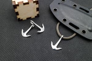 Якорь (10) отверстие 6 мм (хирургическая сталь) от Магазин паракорда и фурнитуры Survival Market
