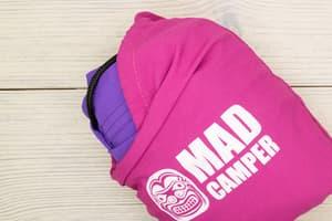 Гамак туристический повышенной прочности (Россия) фиолетовый от Магазин паракорда и фурнитуры Survival Market