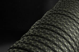 550 паракорд EdcX - Black snake (Украина) от Магазин паракорда и фурнитуры Survival Market