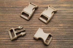 Фастекс 16 мм - коричневый (новинка 2021) от Магазин паракорда и фурнитуры Survival Market