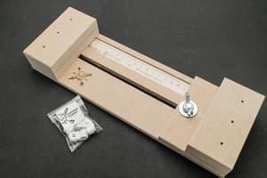 Инструмент для плетения браслетов из паракорда МДФ 25 см от Магазин паракорда и фурнитуры Survival Market