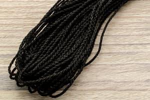 Микрокорд полипропилен (1,2 мм, 15 метров) черный от Магазин паракорда и фурнитуры Survival Market