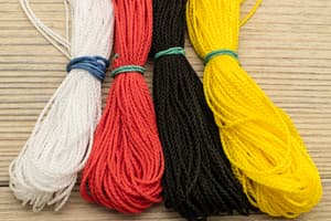 "Набор ""4 мотка микрокорда"" | Эксклюзив online от Магазин паракорда и фурнитуры Survival Market"