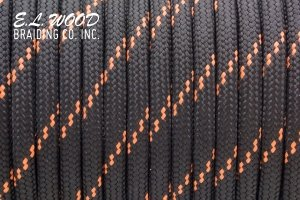 550/750 Paracord Mil-Spec E.L.Wood (USA) - Orange Stripe от Магазин паракорда и фурнитуры Survival Market