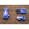 Фастекс с огнивом - синий от Магазин паракорда и фурнитуры Survival Market