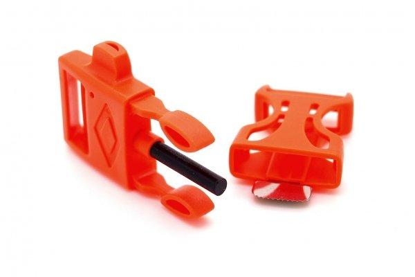 Фастекс с огнивом - оранжевый от Survival Market