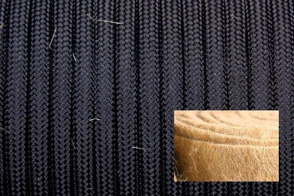 Джутовый 550 паракорд - black (Китай) от Магазин паракорда и фурнитуры Survival Market