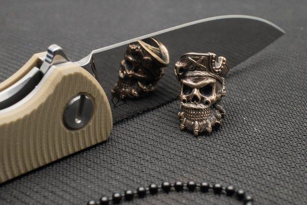 "Подвес на темляк ""Черная Борода"" от Магазин паракорда и фурнитуры Survival Market"