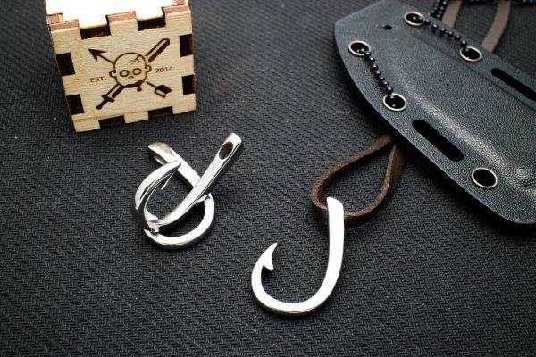 Крюк застежка (хирургическая сталь) от Survival Market