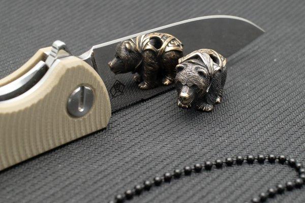 "Подвес на темляк ""Боевой Медведь"" от Магазин паракорда и фурнитуры Survival Market"