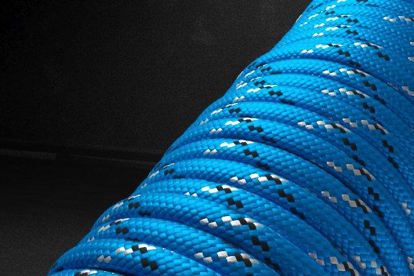 550 паракорд - синий пестрый (М1) от Магазин паракорда и фурнитуры Survival Market