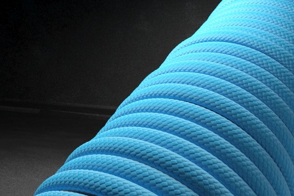 Светящийся 550 паракорд - синий от Survival Market