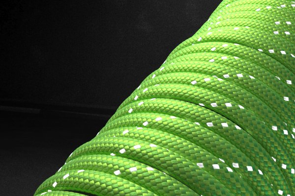 Светоотражающий 550 паракорд - ярко-зеленый