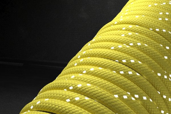 Светоотражающий 550 паракорд - желтый от Магазин паракорда и фурнитуры Survival Market