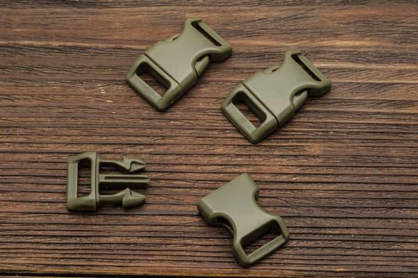 Фастекс 16 мм - армейский зеленый от Магазин паракорда и фурнитуры Survival Market
