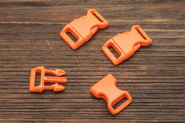 Фастекс 16 мм - оранжевый от Магазин паракорда и фурнитуры Survival Market