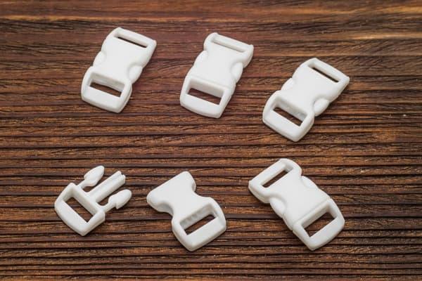 Фастекс 10 мм - белый от Магазин паракорда и фурнитуры Survival Market