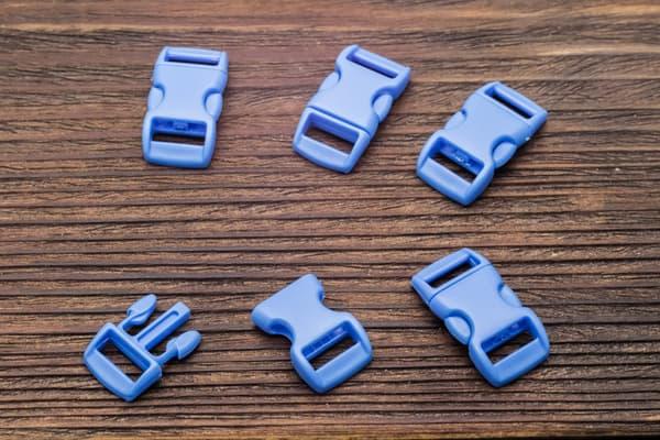 Фастекс 10 мм - голубой от Магазин паракорда и фурнитуры Survival Market
